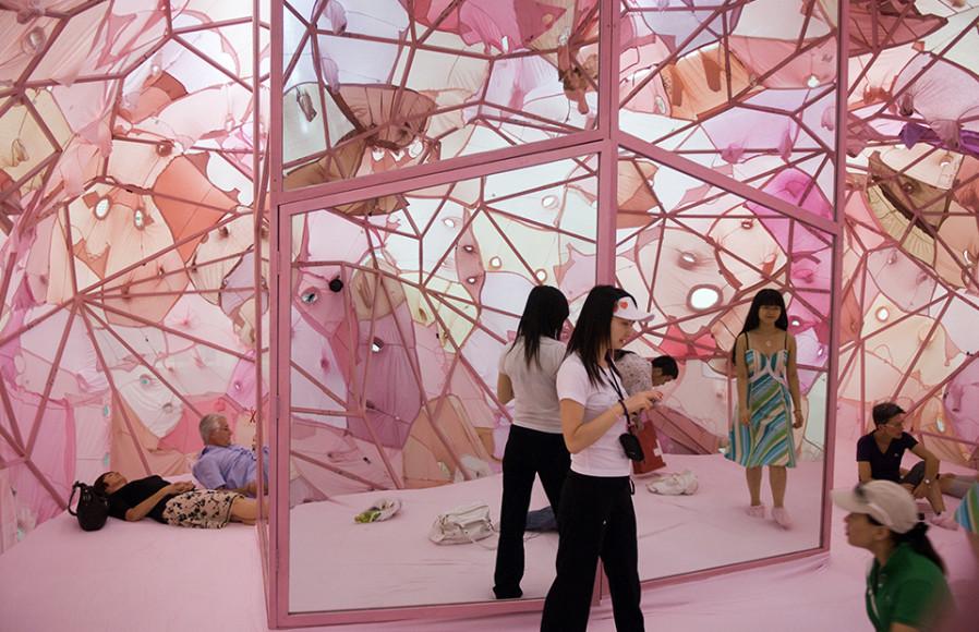 Инь Сючжэнь. «Интроспективная полость» (внутри), 2008.