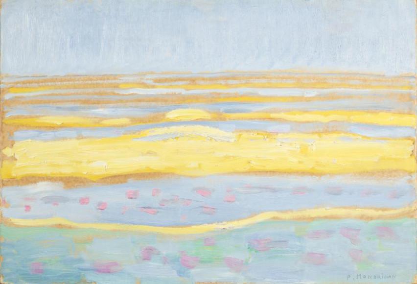 Piet Mondriaan, Seascape, 1909