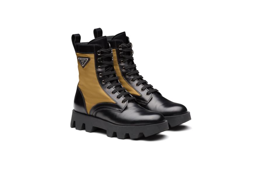 Мужские ботинки Prada, 61 500 руб. (Prada)