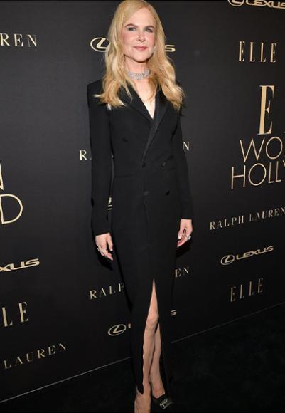 Николь Кидман в платье Ralph Lauren на вечере Women in Hollywood