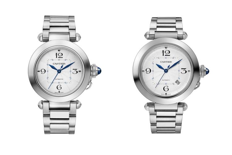 Часы Pasha de Cartier 35 mm и Pasha de Cartier 41 mm, Cartier