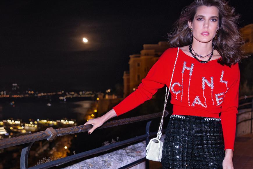 Внучка Грейс Келли Шарлотта Казираги в рекламной кампании Chanel сезона весна-лето 2021