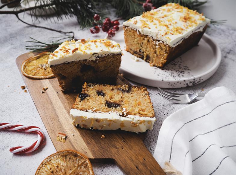Рождественский кекс с сухофруктами(«Город-сад»)