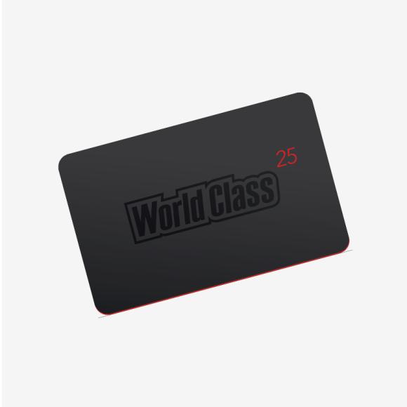 Карта World Class, цена по запросу