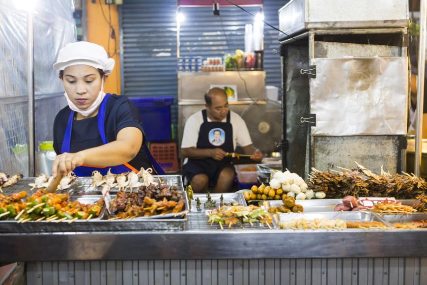 Уличная еда в Таиланде