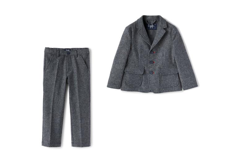 Пиджак (20 190 руб.), брюки (цена по запросу)— все Il Gufo, («Даниэль»)