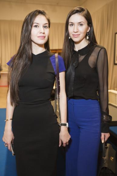 Марианна и Мадина Гоговы, владелицы галереи Artwin Gallery