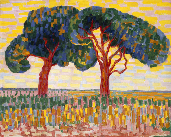 Jacoba van Heemskerck (1876-1923) Two trees, 1908-1910