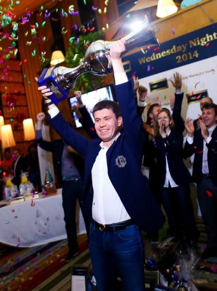 Капитан команды Skolkovo Sailing Team - Руслан Мухаметзянов