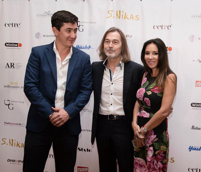 Никас Сафронов и Ирина Чайковская