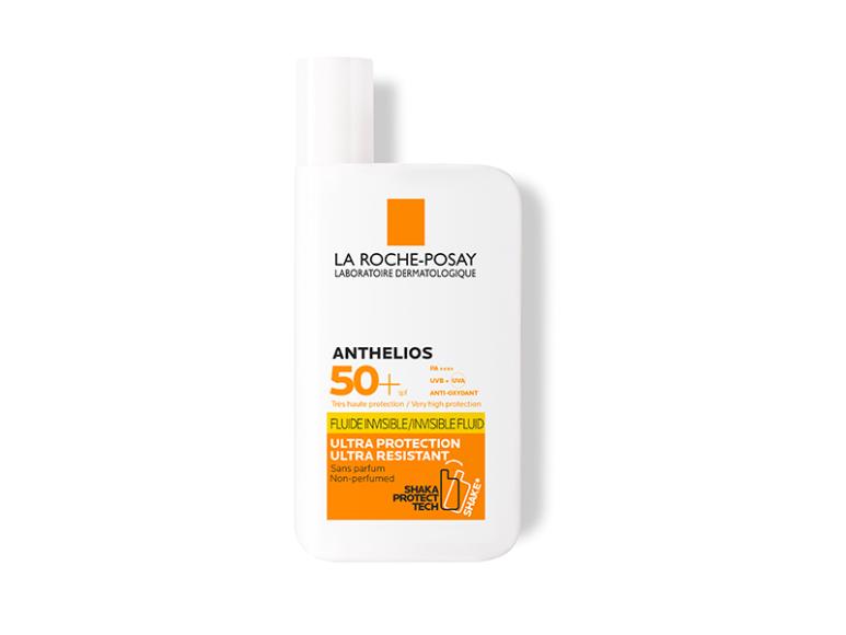 Солнцезащитный невидимый флюид для лица и кожи вокруг глаз Anthelios SPF50, La Roche-Posay
