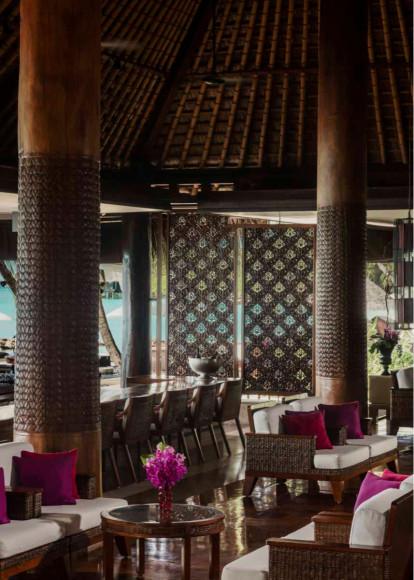 Бар Rah на курорте на курорте One&Only Reethi Rah (Мальдивы)