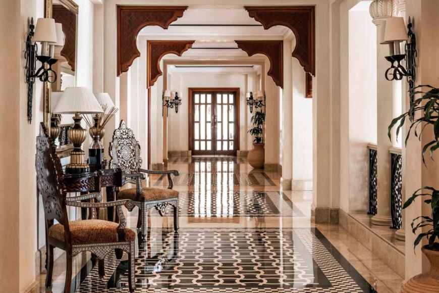 Лобби отеля Residence & SPA, One&Only Royal Mirage (Дубай)