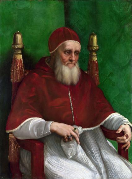Рафаэль Санти. «Портрет папы Юлия II»