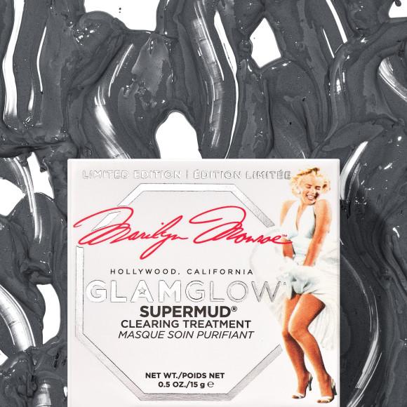 Маска для лица Supermud, лимитированная коллекция Glamglow x Marilyn Monroe, Glamglow
