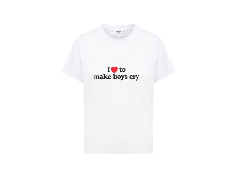 Женская футболка Vetements, 19 450 руб. (ЦУМ)