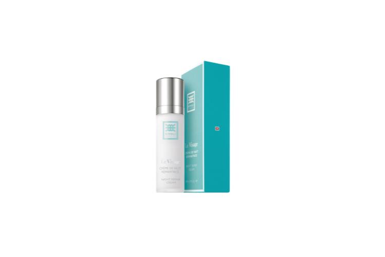 Ночной восстанавливающий крем для лица с эффектом омоложения и обновления Creme de Nuit Reparatrice Le Visage, Rivoli заметно разглаживает морщины, повышает эластичность и упругость кожи, которая начинаетвыглядеть более молодой и отдохнувшей. Подходит для всех типов кожи