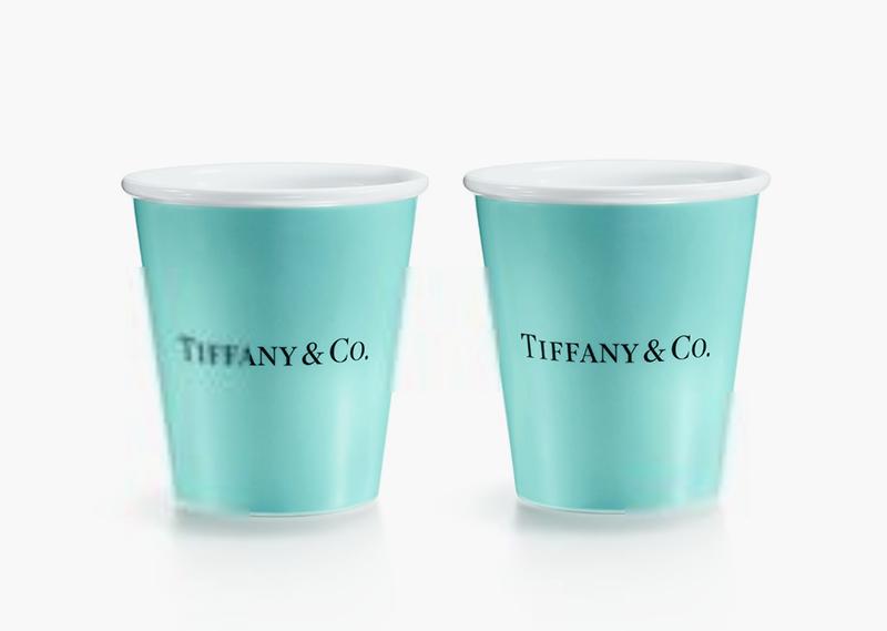 Стаканчики Tiffany & Co., 8500 руб.
