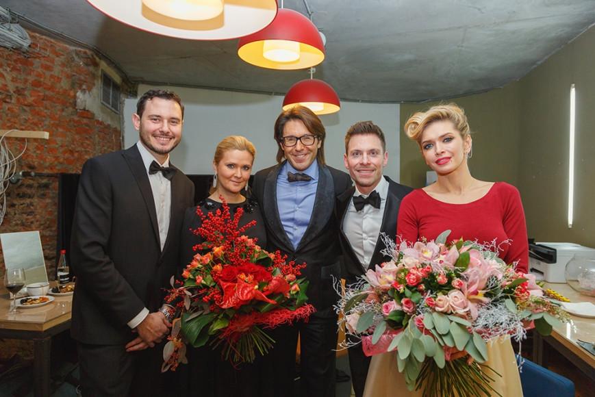 Лоренцо Дзанарди (SMEG), Наталья Шкулева, Андрей Малахов и Вера Брежнева