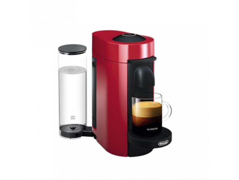 Кофемашина Vertuo Plus, модель D, цвет Cherry Red, Nespresso