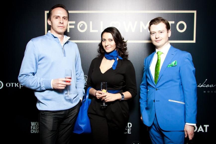 Дмитрий Шарапанюк (владелец Landmark VIP), Илья Горин (старший вице-президент Райффайзен банк) с супругой. JPG