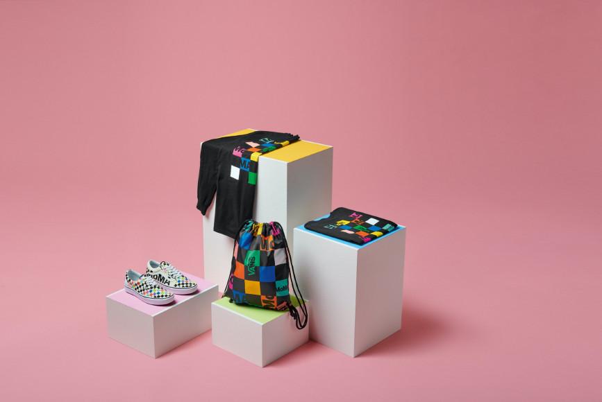 Вещи из совместной коллекции Vans X MoMA