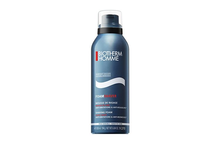 Пена для бритья чувствительной кожи Foam Shaver, Biotherm