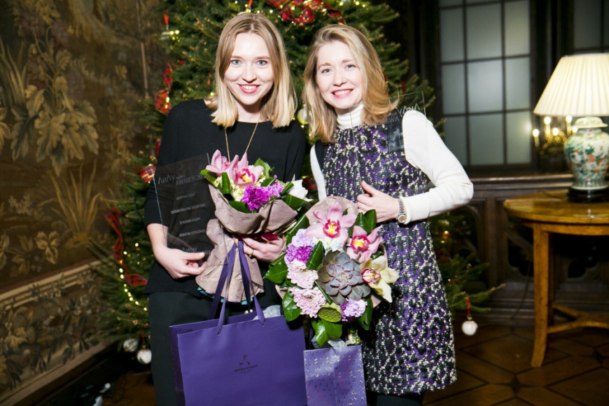 Алиса Радлова (Cosmopolitan Shopping) и Полина Сохранова (Cosmopolitan)
