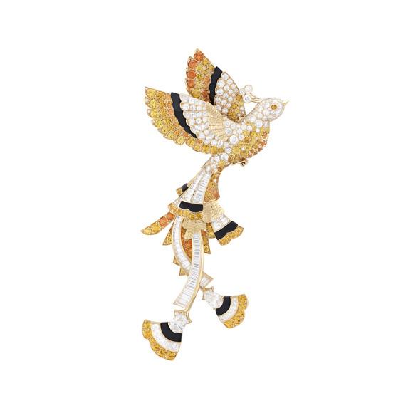 Украшения по мотивам сказок «Золотая птица» и «Три перышка»