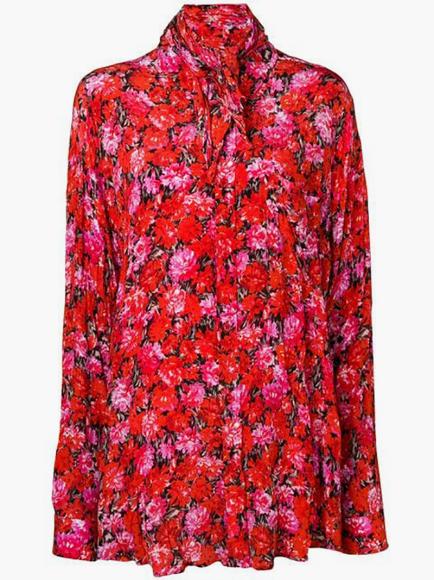 Блуза Balenciaga (Farfetch), 104 000 руб.