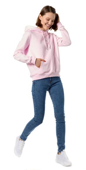 Худи с вышитой монограммой бренда и джинсы, Calvin Klein Jeans