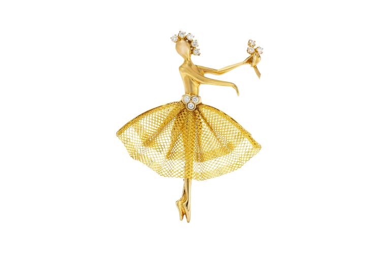 Брошь-балерина, 1993 год