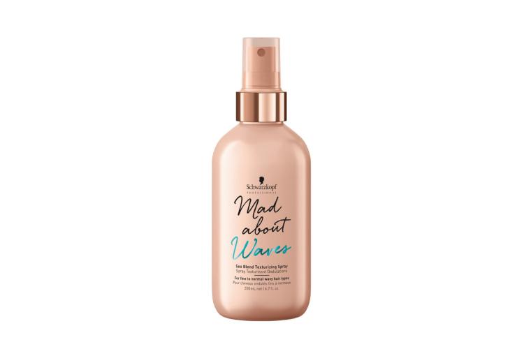 Текстурирующий спрей для волос Mad About Waves Sea Blend Texturizing Spray, Schwarzkopf Professional