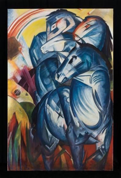 Франц Марк. «Башня синих коней», 1913