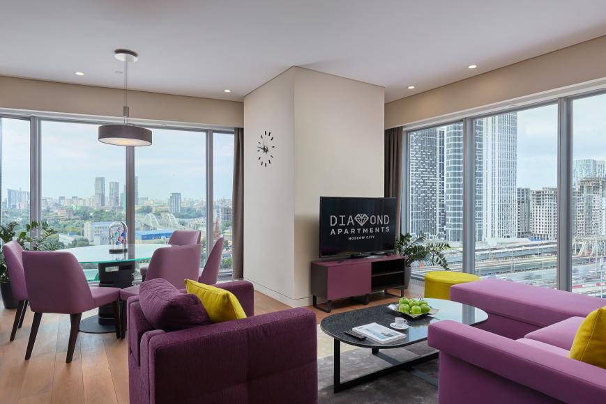 Гостиная Premium Apartment