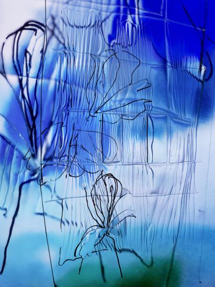 Манон Вертенброк, «Искра в окне», 2018