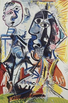 Пабло Пикассо. Большие головы, 1969