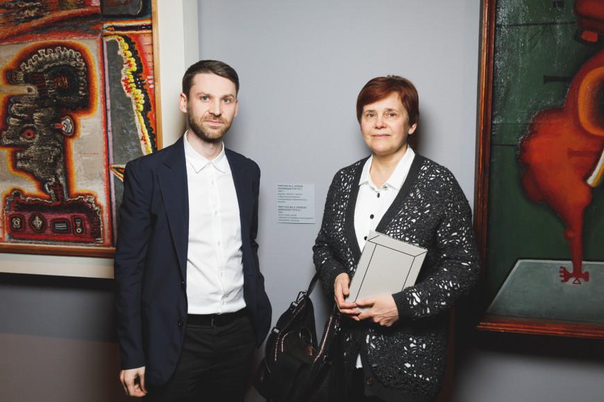 Алексей Новоселов и Ирина Прохорова