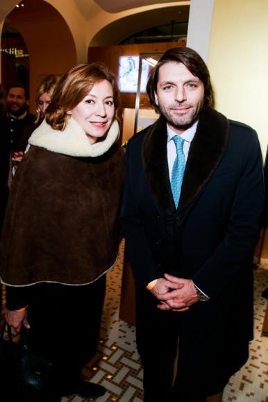 Валерия Роднянская и Николай Усков