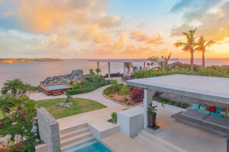 Закат на вилле (ANI Private Resort Anguilla)