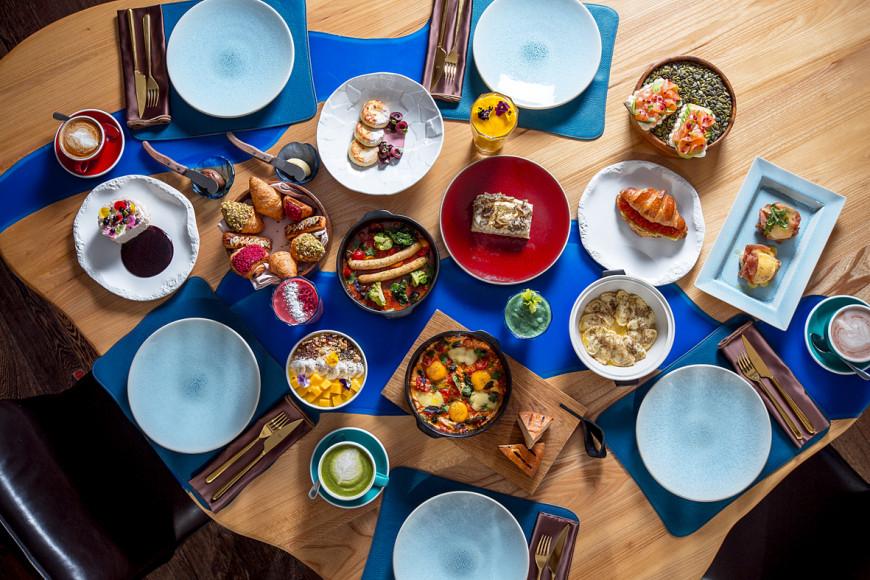 Сет на завтрак (Wine & Crab)