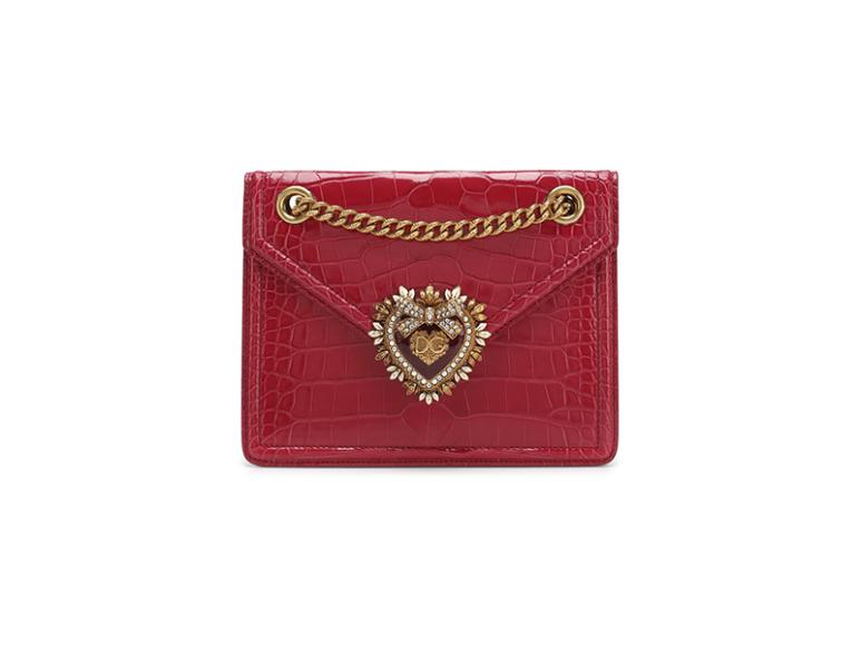 Dolce & Gabbana Devotion из кожи аллигатора, 716 500 руб. (Третьяковский проезд, ЦУМ)