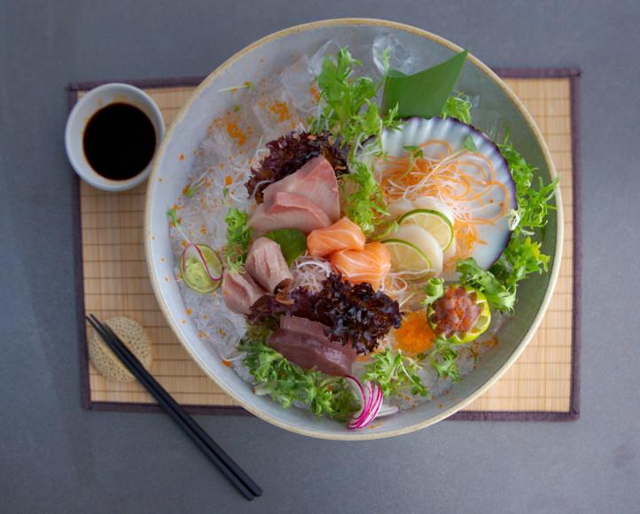 Блюдо в ресторане Shimizu