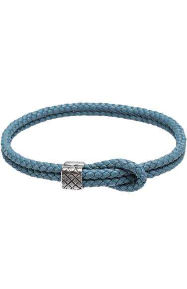 BOTTEGA VENETA Плетеный кожаный браслет