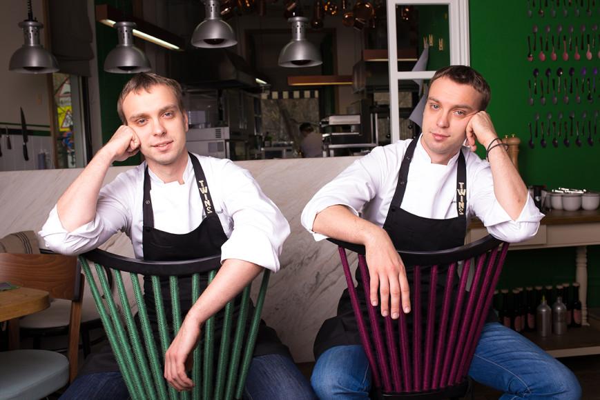 Шеф-повара ресторана Twins Иван и Сергей Березуцкие