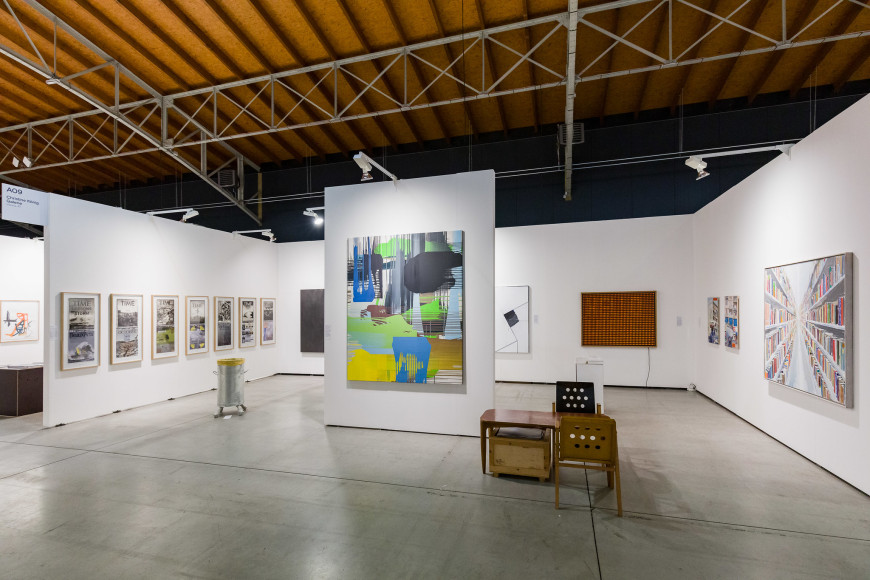 Стенд галереи Christine König Galerie