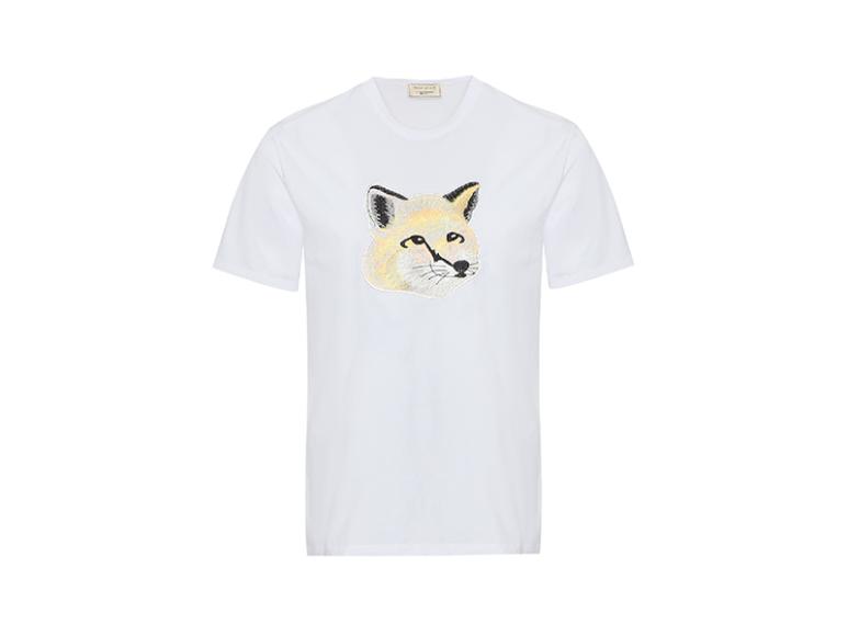 Мужская футболка Maison Kitsune, 5700 руб. с учетом скидки (ГУМ, «Секция»)