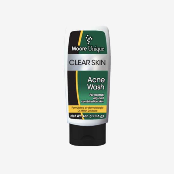 Очищающее средство для лица Clear Skin Acne Wash, Moore Unique Skincare
