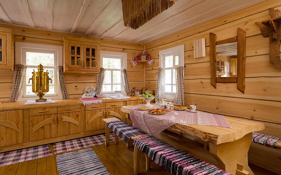 Русская изба «Емеля»