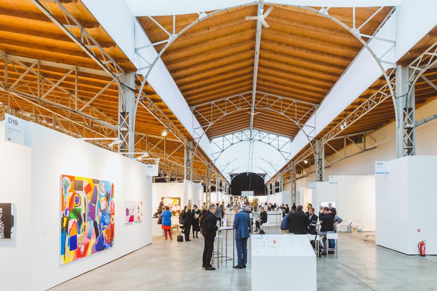 Стенд Galerie Krinzinger (Вена)